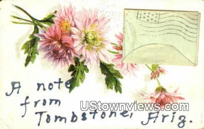 Tombstone, Arizona, Postcard
