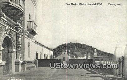 San Xavier Mission, 1962 - Tucson, Arizona AZ Postcard