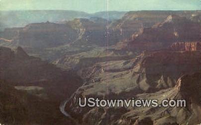 Pima Point - Grand Canyon National Park, Arizona AZ Postcard
