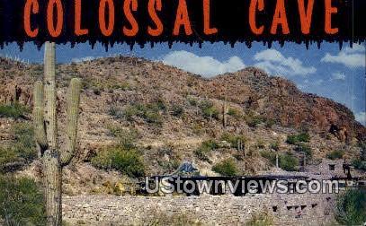 Colossal Caves - Tucson, Arizona AZ Postcard