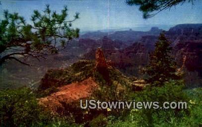 Point Imperial - Grand Canyon National Park, Arizona AZ Postcard