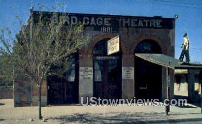 Famous Bird Cage Theatre - Tombstone, Arizona AZ Postcard