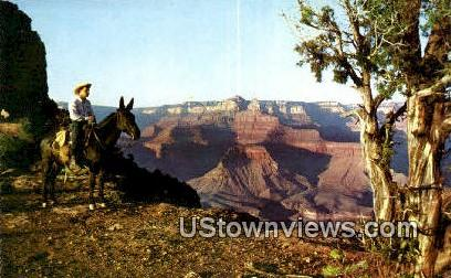 O'Neill Butte - Grand Canyon National Park, Arizona AZ Postcard