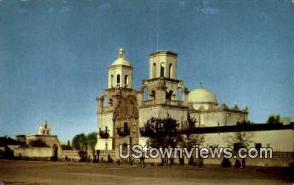 Mission San Xavier Del Bac - Tucson, Arizona AZ Postcard