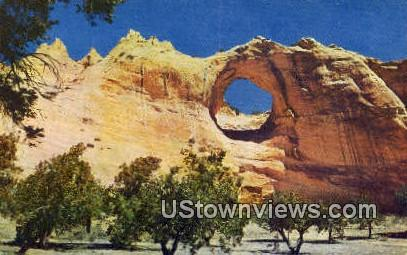 Window Rock, Arizona, Postcard