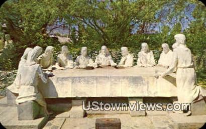 Lucero's The Last Supper - Tucson, Arizona AZ Postcard