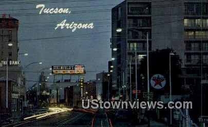 Downtown - Tucson, Arizona AZ Postcard