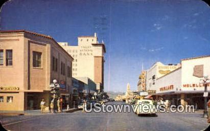 E. Congress Street - Tucson, Arizona AZ Postcard