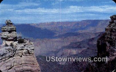 Duck on the Rock - Williams, Arizona AZ Postcard