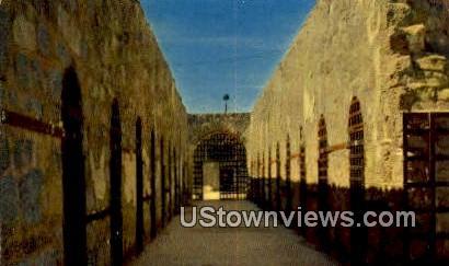 Cell Block, Old Territorial Prison - Yuma, Arizona AZ Postcard