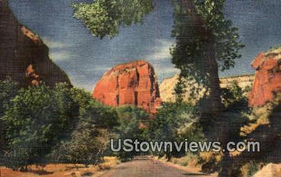 Zion Park, Arizona, Postcard