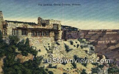 The Lookout - Grand Canyon, Arizona AZ Postcard