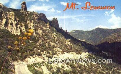 Mt. Lemmon Highway - Tucson, Arizona AZ Postcard