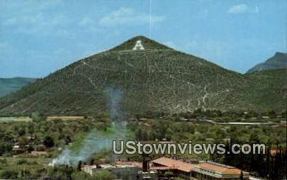 A Mountain - Tucson, Arizona AZ Postcard
