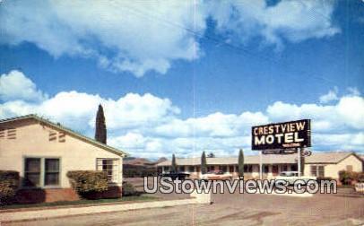 Crestview Motel - Wickenburg, Arizona AZ Postcard