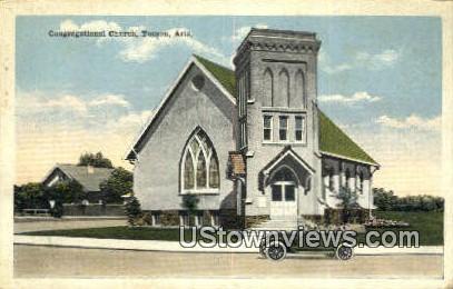 Congregational Church - Tucson, Arizona AZ Postcard