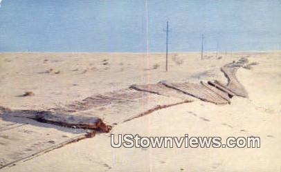 Old Plank Road - Yuma, Arizona AZ Postcard