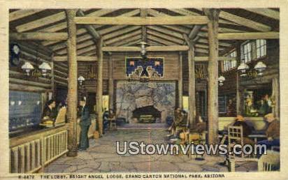 Bright Angel Lodge - Grand Canyon National Park, Arizona AZ Postcard