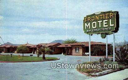 Frontier Motel - Tucson, Arizona AZ Postcard
