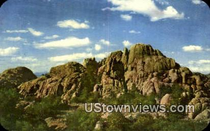 Texas Canyon, Arizona, Postcard
