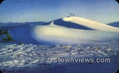 White Sands National Monument, Arizona, Postcard
