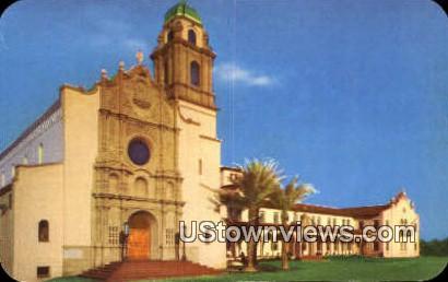 Benedictine Sanctuary - Tucson, Arizona AZ Postcard
