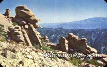 Goosehead Rock, Mt. Lemmon - Tucson, Arizona AZ Postcard