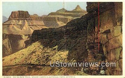 Kaibab Trail - Grand Canyon National Park, Arizona AZ Postcard