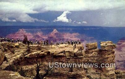 Mather Point - Grand Canyon National Park, Arizona AZ Postcard