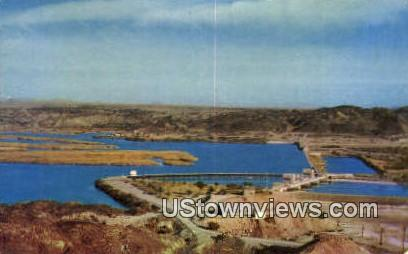 Imperial Dam - Colorado River, Arizona AZ Postcard