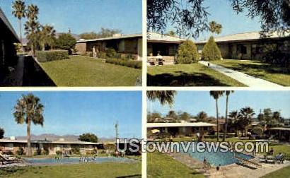 El Monterey Apartments - Tucson, Arizona AZ Postcard
