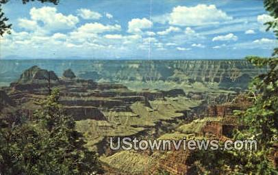 Brigham's Butte - Grand Canyon National Park, Arizona AZ Postcard