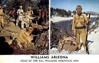 Bill Williams Mountain Men - Arizona AZ Postcard