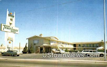 Winslow Travel Lodge - Arizona AZ Postcard