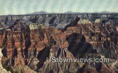 North Rim - Grand Canyon National Park, Arizona AZ Postcard
