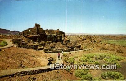 Wupatki National Monument, Arizona, Postcard