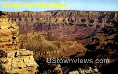 Colorado River - Grand Canyon National Park, Arizona AZ Postcard