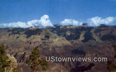 Yavapai Point - Grand Canyon National Park, Arizona AZ Postcard
