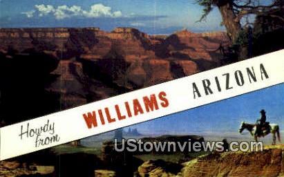 Monument Valley - Williams, Arizona AZ Postcard