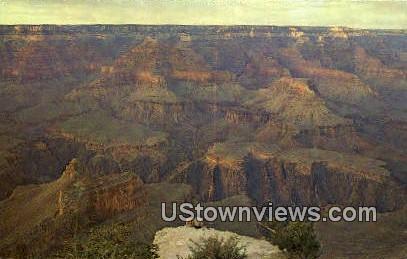 Powell Point - Grand Canyon National Park, Arizona AZ Postcard