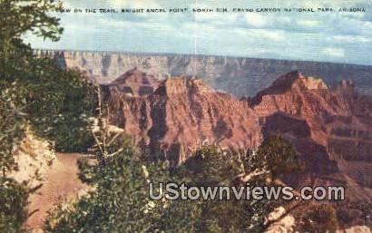 Bridge Angel Point - Grand Canyon National Park, Arizona AZ Postcard