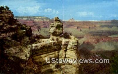 Duck on the Rock - Grand Canyon National Park, Arizona AZ Postcard