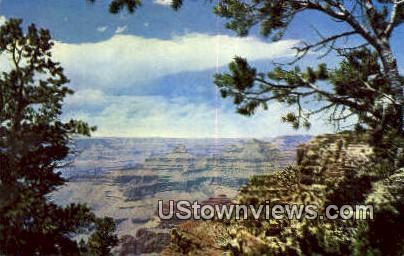 Grand Canyon National Park, Arizona, Postcard