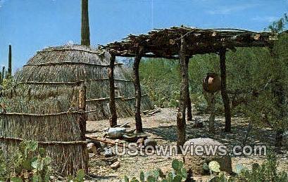 Papago Beehive House - Tucson, Arizona AZ Postcard