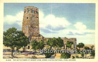Watchtower - Grand Canyon National Park, Arizona AZ Postcard