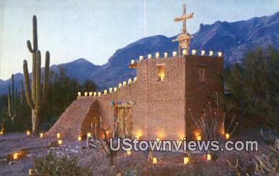 Mission in the Sun - Tucson, Arizona AZ Postcard