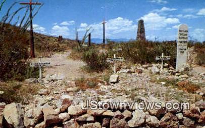 Boothill Graveyard - Tombstone, Arizona AZ Postcard