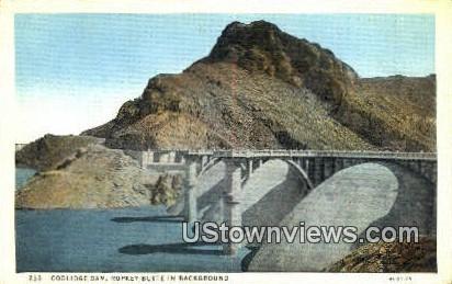 Coolidge Dam - San Carlos, Arizona AZ Postcard