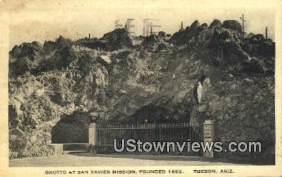 Grotto, San Xavier Mission, 1692 - Tucson, Arizona AZ Postcard