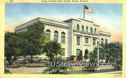 Yuma County Court House - Arizona AZ Postcard